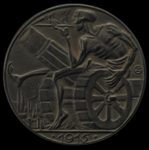 Death and the cannon by Arnold Zadikow 1915