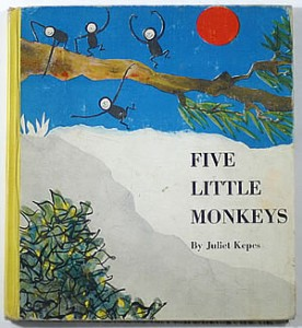 Five Little Monkeys by Juliet Kepes cover