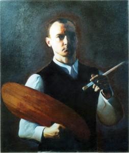 Tim Walton self portrait