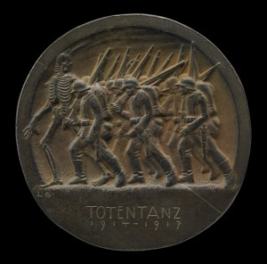 Totentanz Dance of Death 1914-1917 by Ludwig Gies 1917