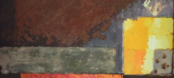 György Kepes oil detail