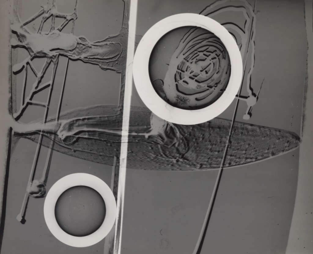 György Kepes, 1906-2001 Bas Relief with Circles c. 1939-40 Photograph, gelatin silver print on paper, 281 x 348 mm © estate of György Kepes