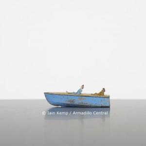 SLE11 Iain Kemp Blue Boat, Two Women wm
