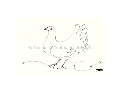 Kepes Dove fine art print