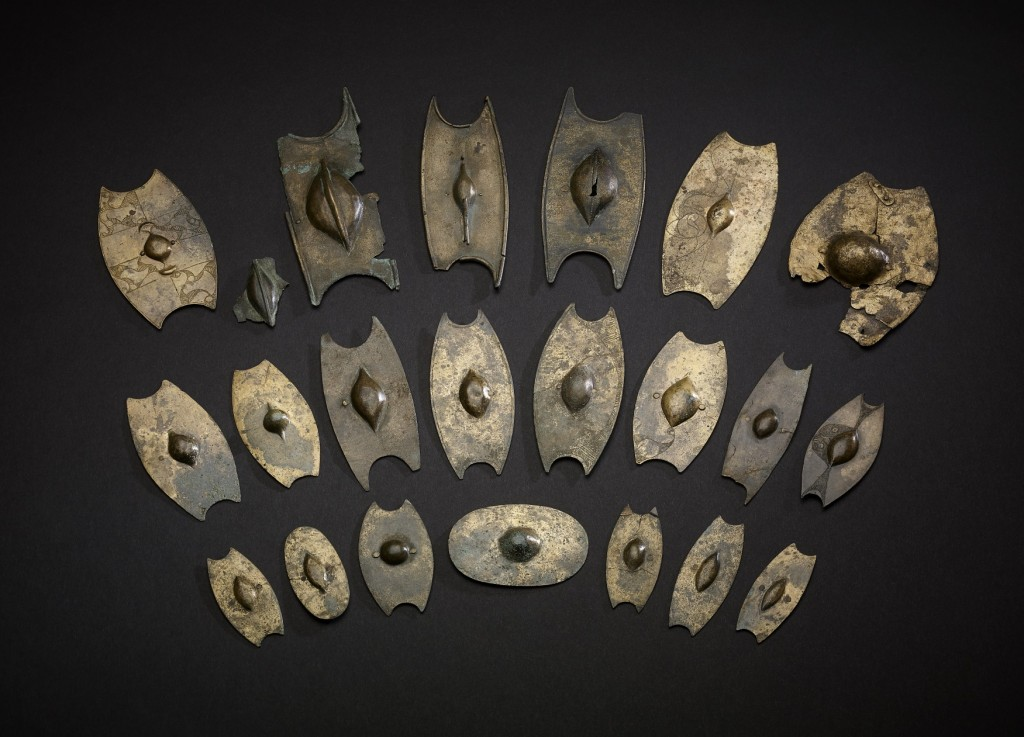 Miniature Iron Age shields Salisbury © The Trustees of the British Museum