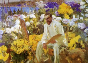 Louis Comfort Tiffany, 1911, Joaquin Sorolla y Bastida (1863-1923) Oil on canvas, © The Hispanic Society of America Collection
