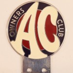 George Israel's AC Owners Club badge