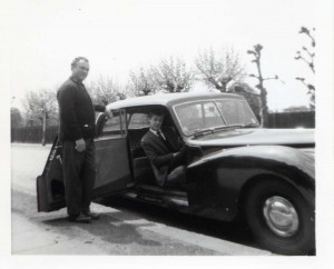 George and Tim Israel with AC Saloon 2