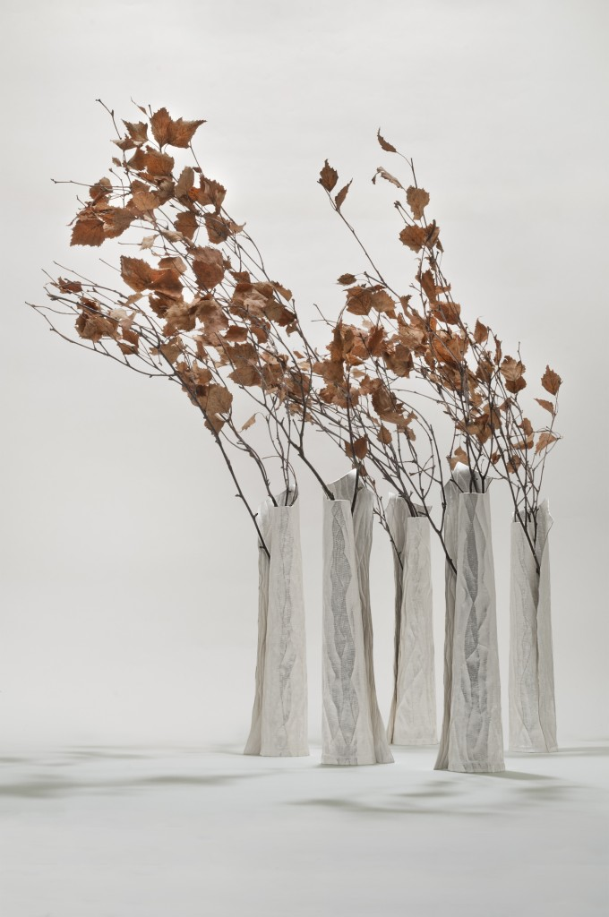 1. Claire Malet, Among the Trees, 2017, Fine Silver, H.24 cm