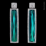 Ingo Henn, Green Tourmaline Earrings