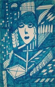 Madge Gill The Spiritualist