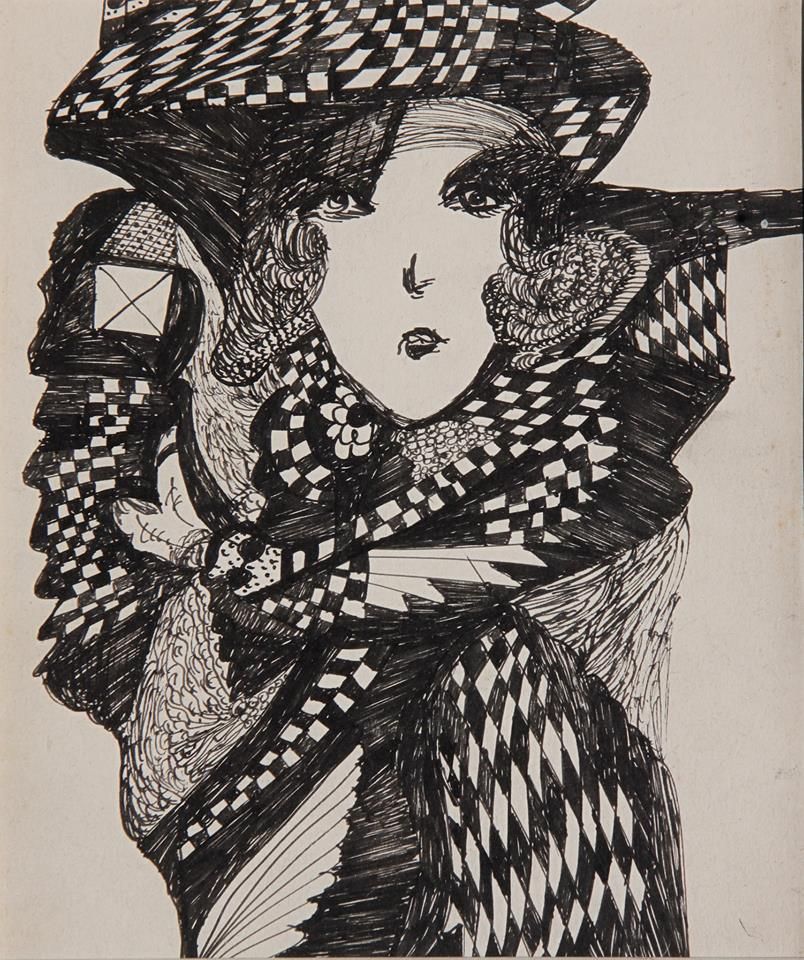 Madge Gill artwork b