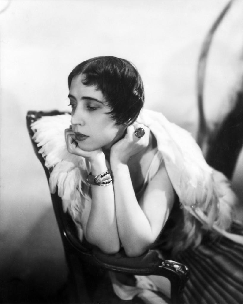 Elsa Schiaparelli (1890-1973), Italian Fashion Designer, photograph by Cecil Beaton, 1936.  Courtesy of The Cecil Beaton Studio Archive, Sotheby's