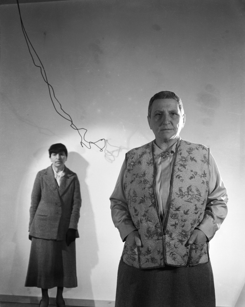 Gertrude Stein (1874-1946) and Alice B. Toklas (1877-1967), photograph by Cecil Beaton, 1936.  Courtesy of The Cecil Beaton Studio Archive, Sotheby's