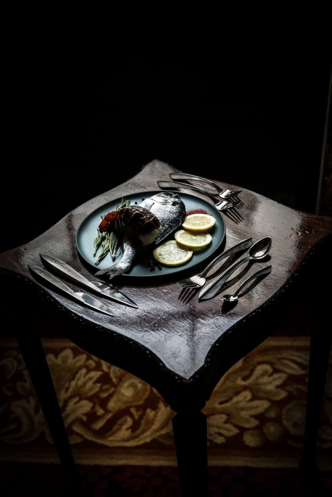 Rauni Higson, 'Eucalyptus' cutlery set, 2011, silver, steel knife blades, hand-forged AC RAUNI HIGSON The Silverware Still Lives (2017) Photo - Rosalind Atkinson . Art Direction - Tasha Marks New image 2