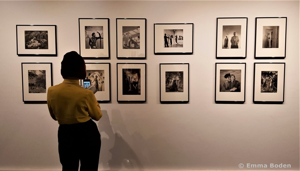 Fashion historian and author Amber Butchart, seen here in the Cecil Beaton exhibition space, also opened the show. Thirty from the 30s AMBER BUTCHART Armadillo Central review pic Emma Boden_wm