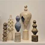 Chinoko Sakamoto, Sculptural Vessels, Flow Gallery, photo: Emma Boden
